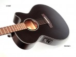 Guitarra Cort Cuerdas Metalicas  SFXE BK5 Electroacústica