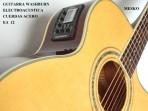 Guitarra Washburn  EA - 12 Cuerdas Metalicas Electroácustica Equalizador Con Afinador