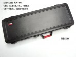 Estuche Gator Para Guitarra  Eléctrica  De Fibra GPE - ELECT. TSA