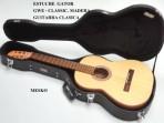 Estuche Gator Para Guitarra Clásica De Madera  GWE-CLASSIC.