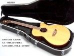 Estuche  Gator Para Guitarra Fock - Jumbo De Fibra GC - DREAD