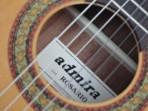 Guitarra  Admira  Rosario  Española  Cuerdas  Nylon (PRODUCTO AGOTADO)