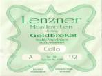 Juego Cuerdas Para Cello  1/2 Lenzner G 1200  GOLDBROKAT