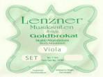 Juego Cuerdas Para Viola  Lenzner  Goldbrokat  1100