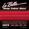 La Bella Juego De 4 Cuerdas Para Bajo 045 - 105 = 760 - FS