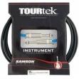 Cable Samson  Tourtek Plug - Plug 6,3  Sati 15 -  4,50 m.