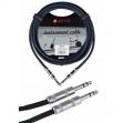 Cable Joyo  Plug - Plug  6.3 Stereo Para  Audio - Instrumetros 6 Metros