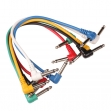 6 Cables  PLUG - PLUG  6,3 Mono  0,60 Centimetros
