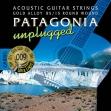 Juego de 6 Cuerdas Metálicas Patagonia  GA 100 G  Para Guitarra Acustic G = 09 - 046