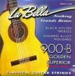 Juego  Cuerdas Nylon  La Bella 900 B Golden Superior  Para Guitarra