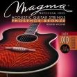 Juego Cuerdas Acero Guitarra Acústica  Magma  GA 120 PB = 010 - 048