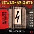 Juego  Cuerdas Thomastik Power Brights R.B. PB 109 = 009 - 011 - 016 - 024 - 032 - 042