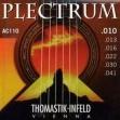 Juego  Cuerdas Thomastik Plectrum Bronce AC 110 = 010 - 013 - 016 - 022 - 030 - 041