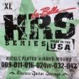 Juego Cuerdas Acero Guitarra Eléctrica La Bella HRS  XL  Nickle Platd  009 - 011 - 016 - 024W - 032 042