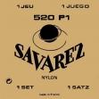 Juego De  Cuerdas  Nylon Savarez 520 P1 Para Guitarra Clásica