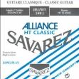 Juego De Cuerdas Nylon De Carbono Savarez Alliance 540 J  Para Guitarra Clásica