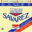 Juego De Cuerdas Nylon Savarez Corum New Cristal 500 CRJ Tensión Mixta Para Guitarra Clásica