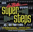 Juego De 4 Cuerdas Para Bajo La Bella SS - 45 Super  Steps 045-065-085 105