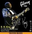 Juego De 6 Cuerdas Metalicas Gibson BB S  B:B: King Para Guitarra Eléctrica 10 -13 - 17 - 32 - 45 - 54
