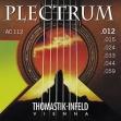 Juego   Cuerdas Thomastik  Plectrum Bronce AC 112  Guitarra Acustic  =  012 - 016 - 024 - 033 - 044 - 059