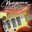 Juego De 4 Cuerdas Para Bajo Electrico Magma BE 150 N = 040 - 060 - 080 - 100