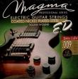 Juego Cuerdas Acero Guitarra Elétrica Niquel Magma GE 110 ED  09 - 042