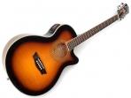 Guitarra Washburn  Cuerdas Metalicas EA 15 Electroácustica  Equalizador Con Ainador   Barcus Berry
