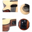 Guitarra Cort Cuerdas Nylon Electroácustica CEC 3 NS