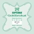 Juego Cuerdas Para Viola Optima Goldbrokat  G 1100  4/4 Producto Aleman