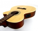 Guitarra Cort SFX - ME OP Cuerdas Metalicas Electroacústica Cubierta Pino Abeto Cuerpo Cedro, Maderas Laminadas Con Equalizador Cort y Afinador