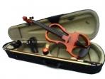 Violin Eléctrico Finelegend Clavijas - Diapason Montonera de Ebano, Con Arco Estuche Resina y Fonos