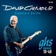Juego Cuerdas Acero Guitarra Eléctrica  ghs DAVID GILMOUR Boomers  10 - 48