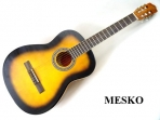 Guitarra Sevillana Samber de Estudio Cuerdas Nylon, Puente Diapason de Jacarandá