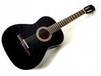 Guitarra Sevillana Negra Cuerdas  Nylon