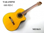 Guitarra Takamine Clásica Cuerdas Nylon EG 522 C Koreana  ( PRODUCTO  AGOTADO )