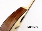 Mandolina Mesko 8 Cuerdas Cubierta de Pino Abeto Solido - Caja de Jacaranda Solido - Brazo de Cedro