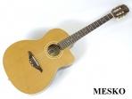 Guitarra Manuel Rodrigez Española  C - 10 Cut E/N Nogal  Cuerdas Nylon  Electroácustica  con Equalizador  Fishman