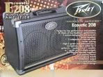 Amplificador PEAVEY  E 208 Para Guitarra Electroacústica  30 w.