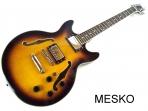 Guitarra Eléctrica Memphis de Jazz 2 Cápsulas