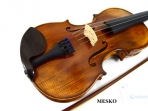 Violin Cremona SV - 500 = 4/4 Cubierta De Pino Abeto, Caja De Arce (Maple), Diapason, Clavijas Tira Cordal De Ebano, Incluye Arco, Resina y Estuche Ultraliviano