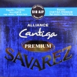 Juego de  Cuerdas Nylon Savarez 510 AJP Alliance Cantiga Premium, Producto Frances