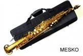 Saxo Soprano ROY BENSON SS-302 Laqueado con Estuche y Colgador