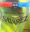 Juego De Cuerdas Nylon Savarez 540 CRJ New Cristal Classic  Alta Tensión