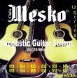 Juego Cuerdas de Acero Para guitarra 12 Cuerdas MESKO 80/20 - 010 - 048
