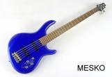 Bajo Eléctrico 5 Cuerdas Cort Action Bass V Plus Activo  24 Espacios Incluye Funda