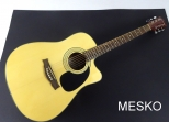 Guitarra Memphis Fock 991 Cuerdas Metálicas,  Equalizador con Afinador