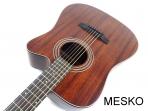 Guitarra Bristol de Saga BD - 15 CE Cuerdas Metálicas Electroacústica, Sistema con Controles de Tono y Volumen Fishman con Bateria 9 V. (PRODUCTO AGOTADO)